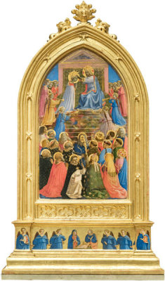 Fra Angelico - The Coronation of the Virgin, 1424-1434