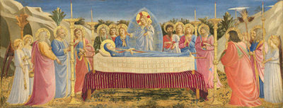 Fra Angelico - The Dormition of the Virgin, 1431-1435
