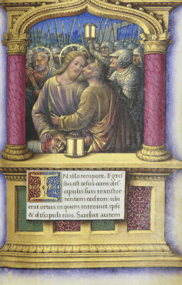 Jean Bourdichon - Book of Hours: The Betrayal of Judas, 1490-1515