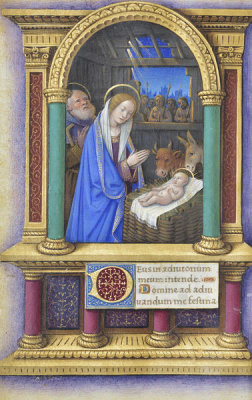 Jean Bourdichon - Book of Hours: The Nativity, 1490-1515
