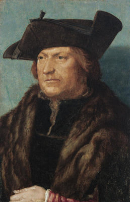 Albrecht Dürer - A Man in a Fur Coat, 1521