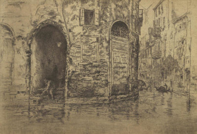 James McNeill Whistler - First Venice Set: The Two Doorways, 1880