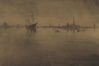 James McNeill Whistler - First Venice Set: Nocturne, 1879-1880
