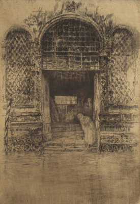 James McNeill Whistler - First Venice Set: The Doorway, 1879-1880