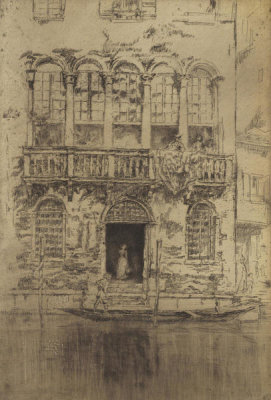 James McNeill Whistler - Second Venice Set: The Balcony, 1879-1880
