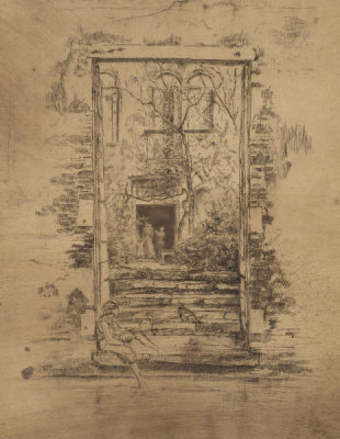 James McNeill Whistler - Second Venice Set: The Garden, 1879-1880