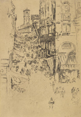 James McNeill Whistler - Second Venice Set: The Rialto, 1879-1880