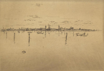 James McNeill Whistler - First Venice Set: The Little Venice, 1880