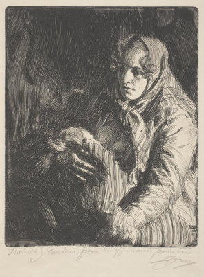 Anders Zorn - Madonna, 1900