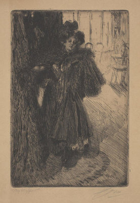 Anders Zorn - Night Effect II, 1895