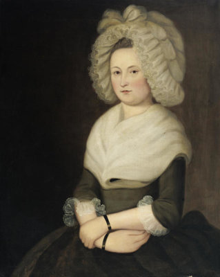 Unknown Scottish artist - Mary Brough Stewart, about 1790-1804