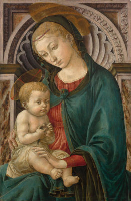 Francesco Pesellino - Virgin and Child, about 1453 - 1457
