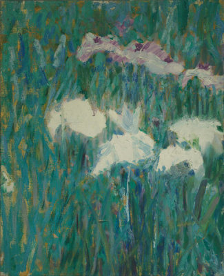 Alfred Quinton Collins - Japanese Irises, late 19th century
