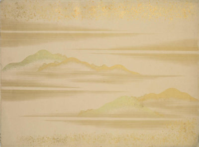Japanese - Landscape with Mountains, 19th century