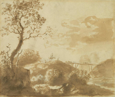 Dutch - The Bridge, 17th century
