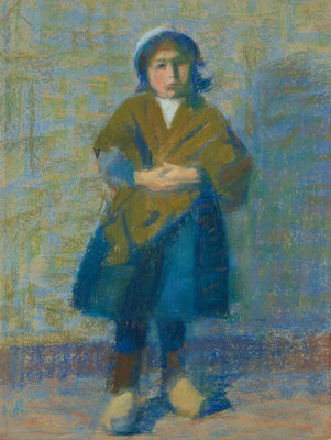 Dodge MacKnight - A Little Girl of Douarnenez, 1889