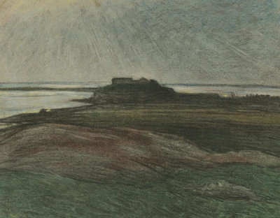 Karl Frederik Nordstrom - The Headland, 1894