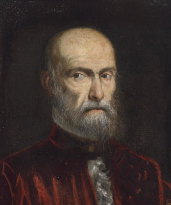 Follower of Domenico Tintoretto - A Procurator of San Marco, late 16th century