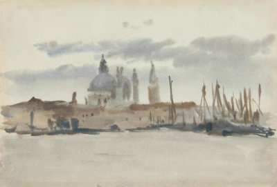 Francis Edward James - Santa Maria della Salute from the Giudecca, Venice, before 1915