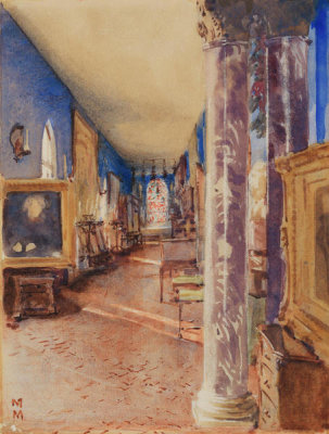 Martin Mower - The Long Gallery, Fenway Court, 1922-1923