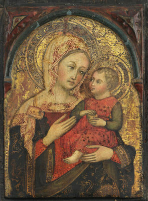 Italian, Northern Italy - The Virgin and Child with an Apple, 1430-1480