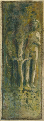 Joseph Lindon Smith - Adam and Eve, Doge's Palace, Venice, about 1894
